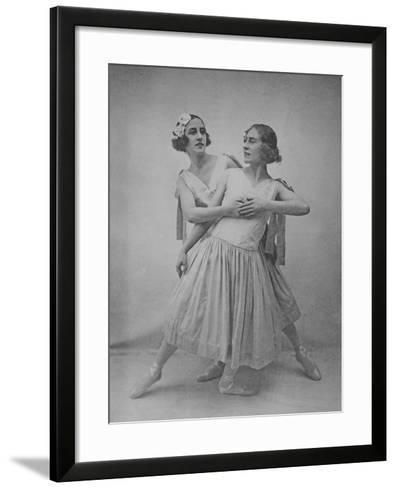 Lubov Tchernicheva and Lydia Sokolova--Framed Art Print