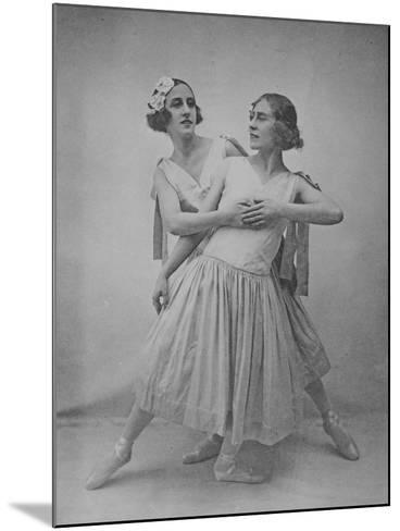 Lubov Tchernicheva and Lydia Sokolova--Mounted Photographic Print