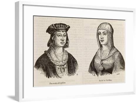 Ferdinand II of Aragon, known as Catholic--Framed Art Print