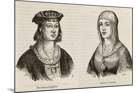 Ferdinand II of Aragon, known as Catholic--Mounted Giclee Print