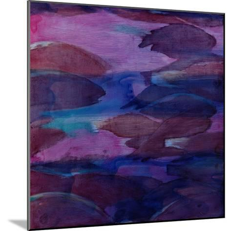 Purple Parrots VI, 2000-Charlotte Johnstone-Mounted Giclee Print