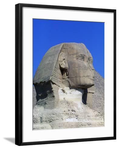 Sphinx of Giza, Giza Necropolis--Framed Art Print