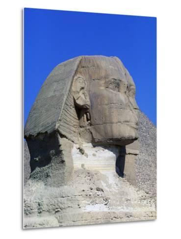 Sphinx of Giza, Giza Necropolis--Metal Print