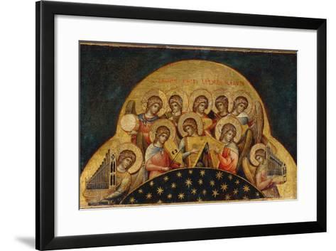 Chorus of Angels-Paolo Veneziano-Framed Art Print