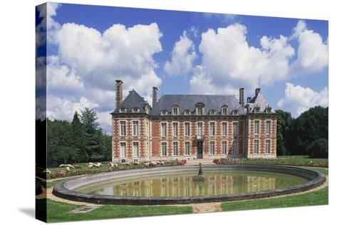Chateau Du Le Fayel--Stretched Canvas Print