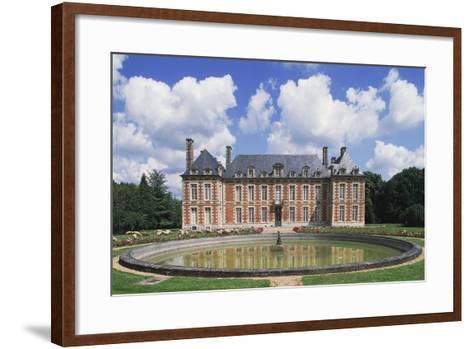 Chateau Du Le Fayel--Framed Art Print