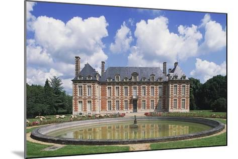 Chateau Du Le Fayel--Mounted Giclee Print