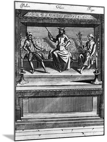 Woden, Thor and Friga, 1670-1680--Mounted Giclee Print