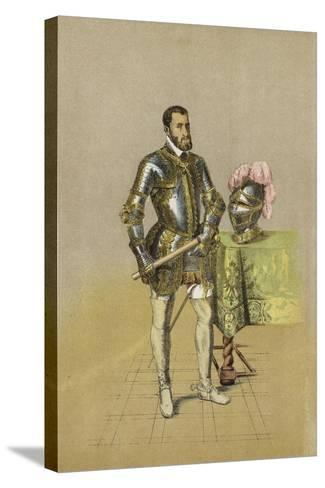 Charles V, Holy Roman Emperor--Stretched Canvas Print