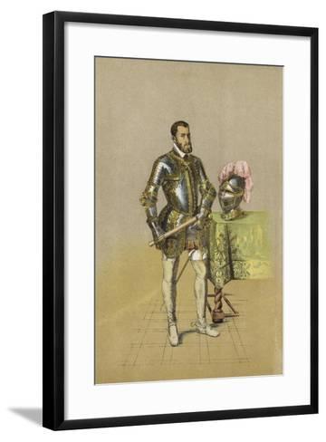Charles V, Holy Roman Emperor--Framed Art Print