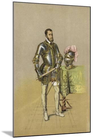 Charles V, Holy Roman Emperor--Mounted Giclee Print