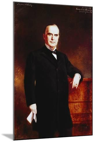 Portrait of William Mckinley--Mounted Giclee Print