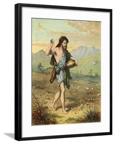 Sowing the Seed--Framed Art Print