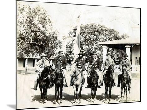 Men on Horseback--Mounted Photographic Print