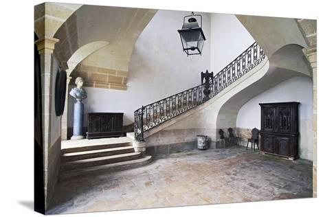 Castle of Loyat--Stretched Canvas Print