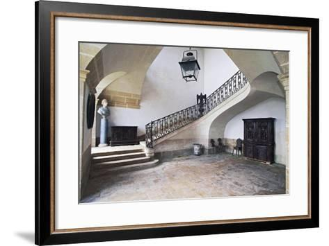 Castle of Loyat--Framed Art Print