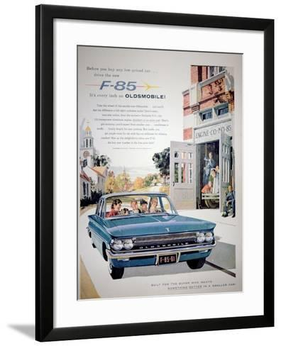 Advertisement for the F-85 Oldsmobile Car, 1961--Framed Art Print