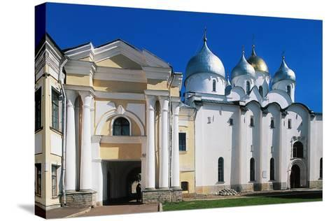 View of St Sophia Cathedral--Stretched Canvas Print