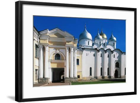 View of St Sophia Cathedral--Framed Art Print