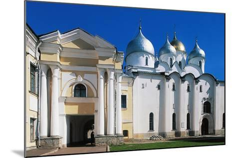 View of St Sophia Cathedral--Mounted Giclee Print