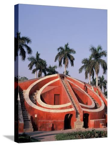 Jantar Mantar Observatory in Delhi, India--Stretched Canvas Print