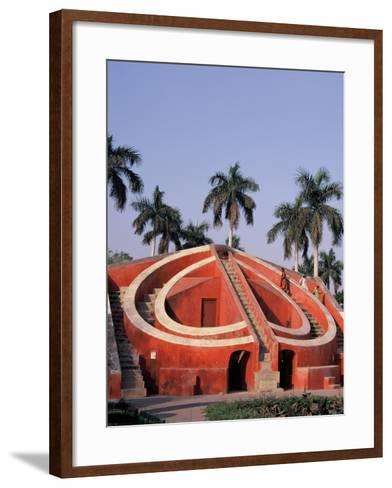 Jantar Mantar Observatory in Delhi, India--Framed Art Print