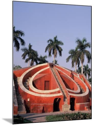 Jantar Mantar Observatory in Delhi, India--Mounted Photographic Print
