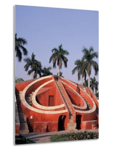 Jantar Mantar Observatory in Delhi, India--Metal Print