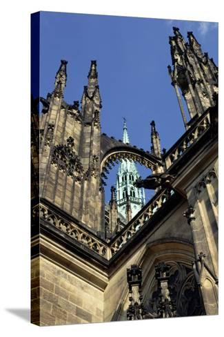 Cathedral of Saint Vitus, Begun in 1344--Stretched Canvas Print
