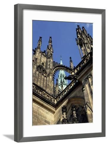 Cathedral of Saint Vitus, Begun in 1344--Framed Art Print