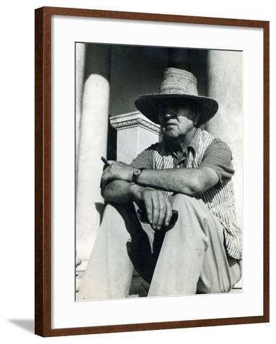 Robert Graves--Framed Art Print