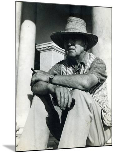 Robert Graves--Mounted Photographic Print