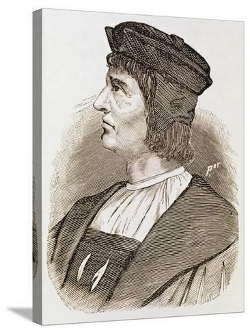 Portrait of Bartolomeu Dias--Stretched Canvas Print