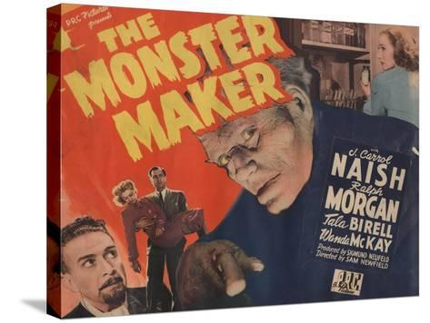 Lobby Card for 'The Monster Maker', 1944--Stretched Canvas Print