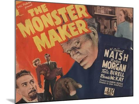 Lobby Card for 'The Monster Maker', 1944--Mounted Giclee Print