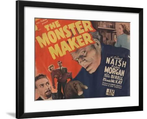 Lobby Card for 'The Monster Maker', 1944--Framed Art Print