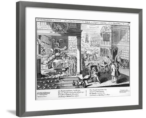 The Gothamites in Council, 1761--Framed Art Print