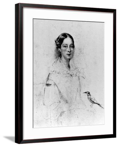 Portrait of Emily Shore--Framed Art Print