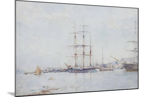 Falmouth Bay, 1925-Henry Scott Tuke-Mounted Giclee Print