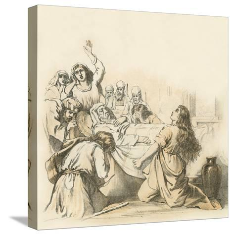 The Death of Samuel--Stretched Canvas Print
