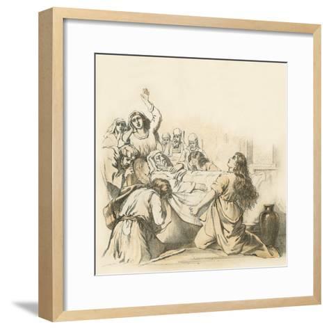 The Death of Samuel--Framed Art Print