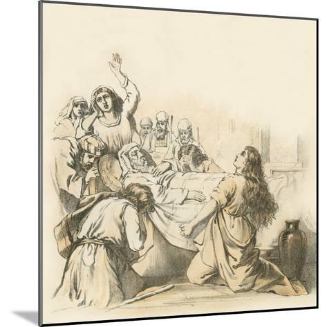 The Death of Samuel--Mounted Giclee Print