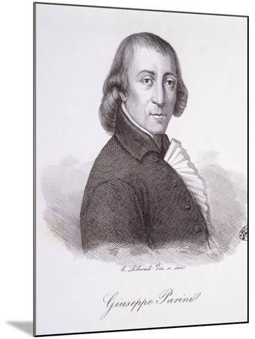 Giuseppe Parini-C. Liberali-Mounted Giclee Print
