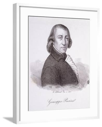 Giuseppe Parini-C. Liberali-Framed Art Print