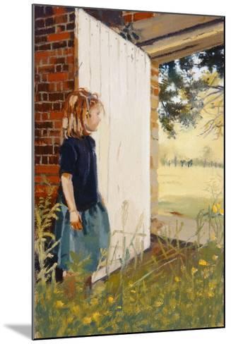 Secret Garden, 1995-Gillian Furlong-Mounted Giclee Print
