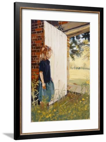 Secret Garden, 1995-Gillian Furlong-Framed Art Print
