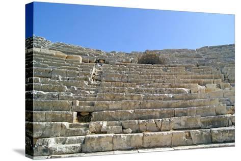 Patara's Amphitheatre, Patara, Turkey--Stretched Canvas Print
