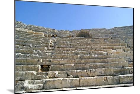 Patara's Amphitheatre, Patara, Turkey--Mounted Photographic Print