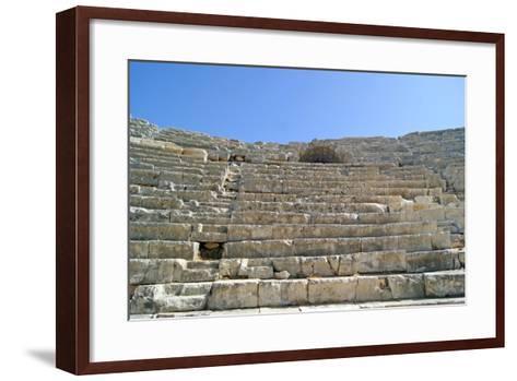 Patara's Amphitheatre, Patara, Turkey--Framed Art Print