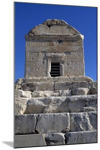 Tomb of Cyrus Great, Pasargad--Mounted Photographic Print